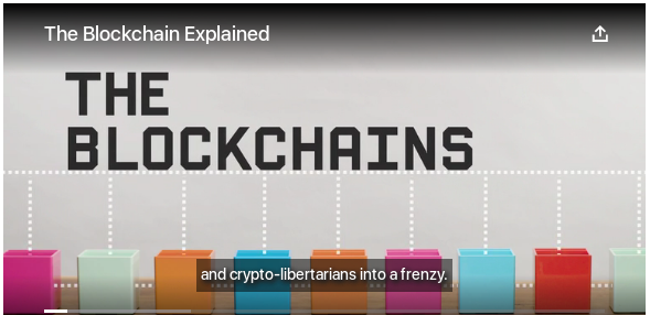 Blockchains Explained in Two Minutes
