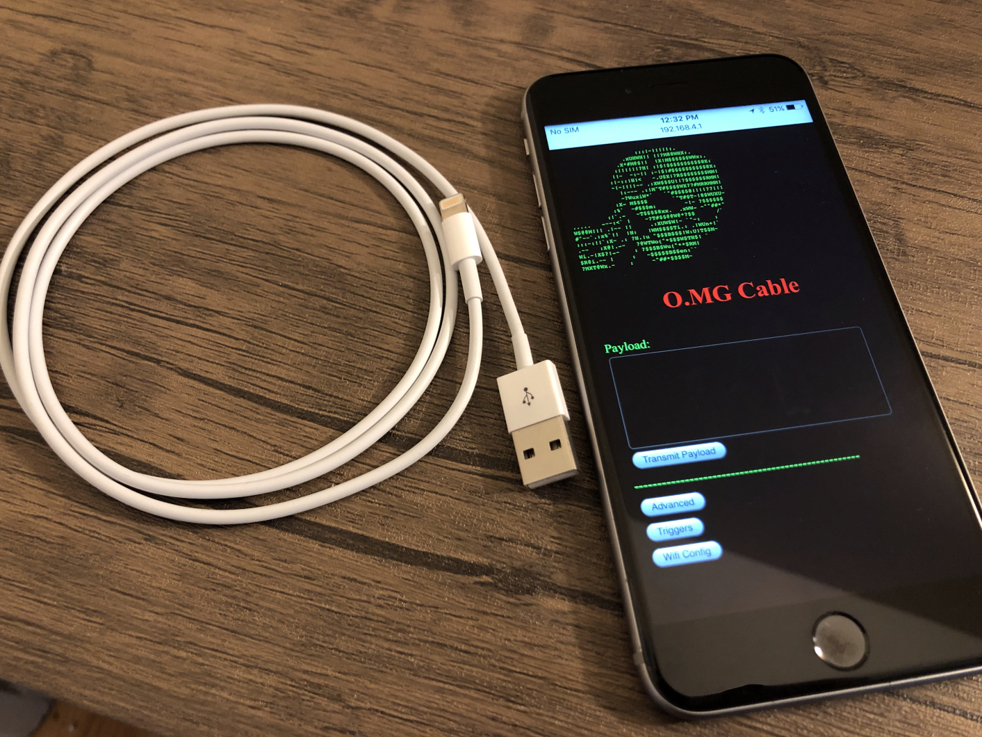 WIFI In Your Malicious USB Cables: O.MG Cable – Thomas J. Ackermann