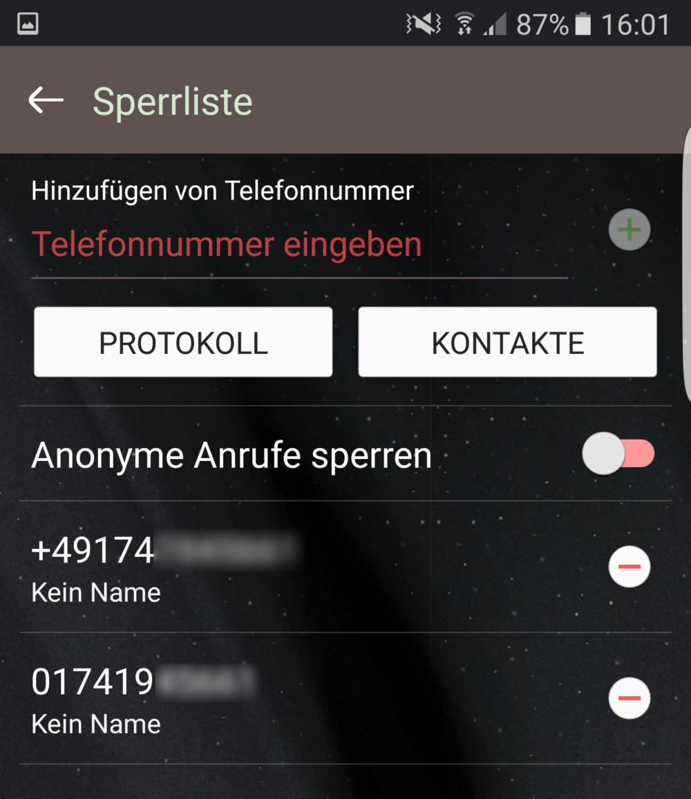 Handynummer Liste