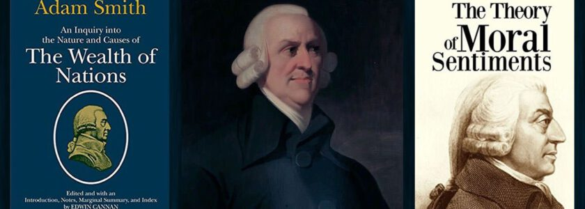 Ökonomie-Urvater Adam Smith – Zitat