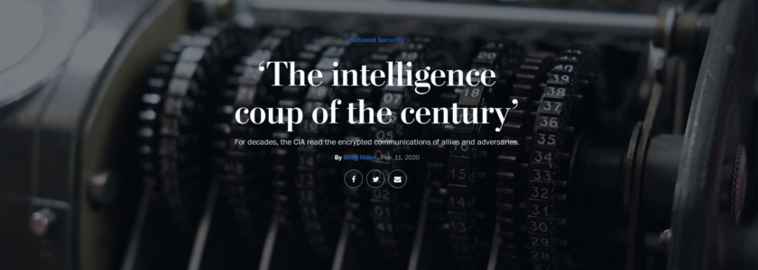 'The intelligence coup of the century' – For decades, the CIA and German BND read the encrypted communications of allies and adversaries.