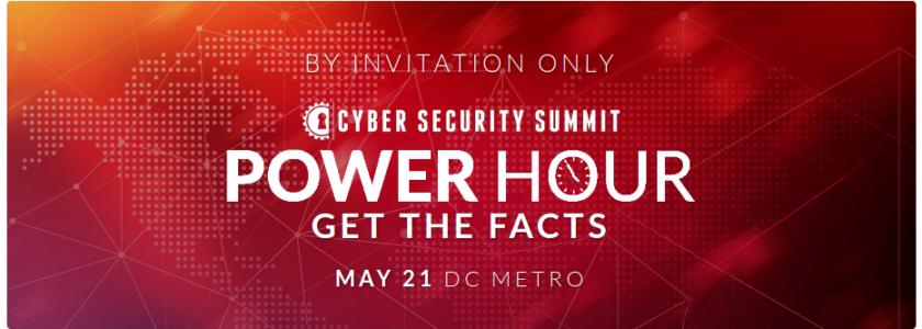 Virtual Cyber Summit Power Hour DC Metro Edition