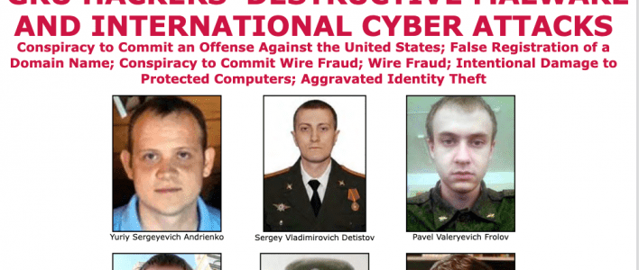 U.S. Charges Russian Intelligence Officers for NotPetya, Industroyer Attacks