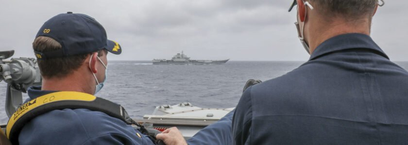 China accuses US Navy of 'Cognitive Warfare' after 'unusual' photo emerges.