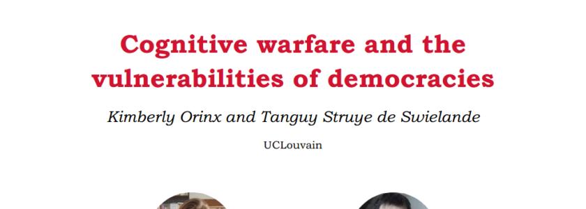 Evolving Cognitive Warfare